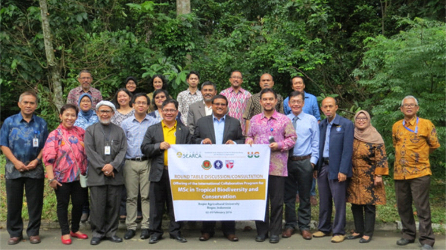 ROUND TABLE DISCUSSION : International Collaborative Program for MSc in Tropical Biodiversity and Conservation